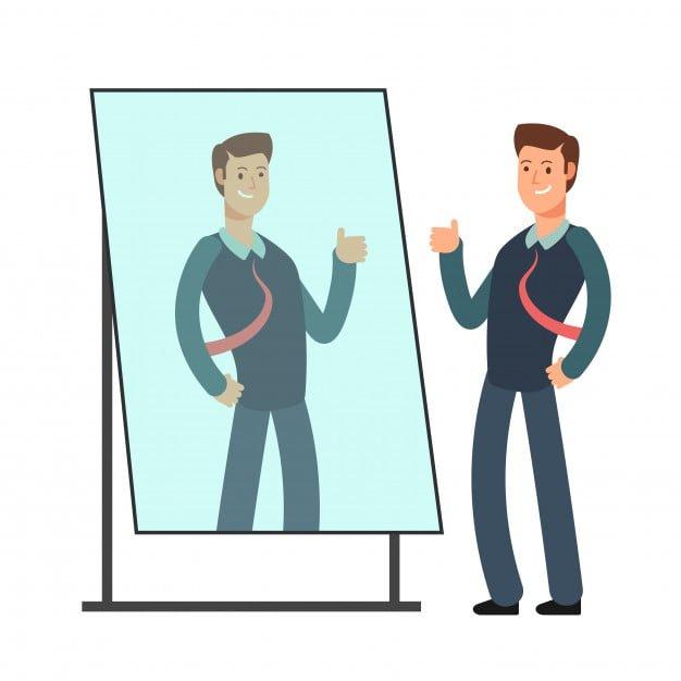 rozmowa z lustrem