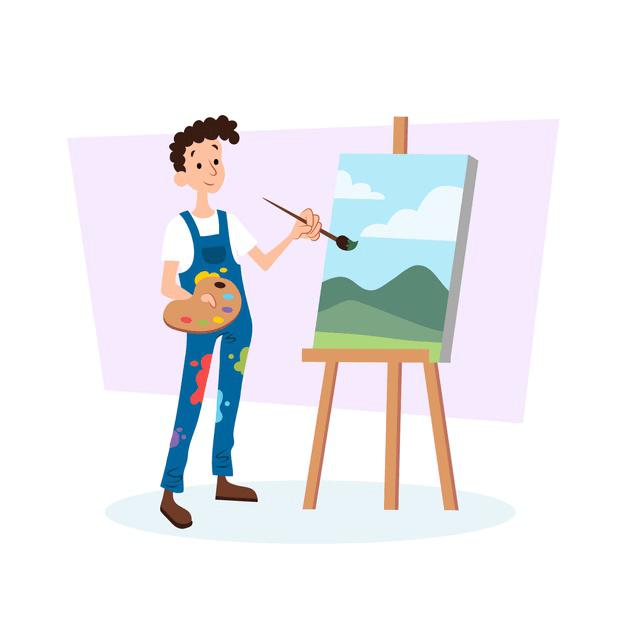 hobby malarz